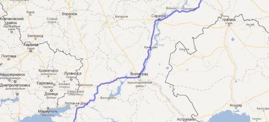 Путешествие Самара-Анапа
